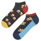 Hamburger food sneaker sokken mismatch