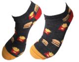 Hamburger food sneaker sokken