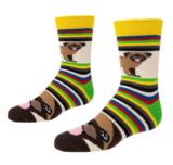 Mops sokken - mop afbeelding - honden sokken