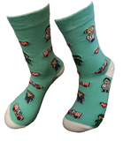 dokter zuster medicijn sokken