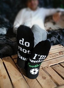 DO NOT DISTURB... I´m watching football