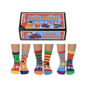 Box Sock puppets
