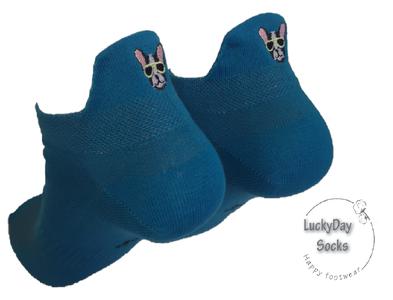 Sneaker hond grijs (blauw)
