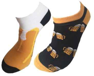 bier sneaker sokken