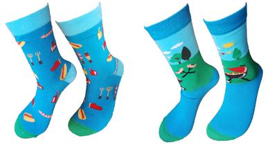 BBQ sokken